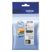 Brother LC3219XL Value Pack - 4er-Pack - XL - Schwarz, Gelb, Cyan, Magenta - Original - Tintenpatrone
