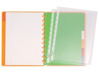 Cahier spirale Atoma A4 - petits carreaux - 120 pages