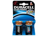 Pile C - LR14 Duracell Ultra Power - Blister de 2