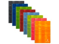 Cahier spirale Clairefontaine Metric A4 21 x 29,7 cm petits carreaux 100 pages