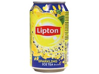 Lipton Ice Tea pétillant canette 33 cl - Carton de 24