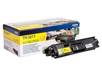 Brother TN321Y - jaune - original - cartouche de toner (TN-321Y)