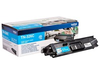 Brother TN326C - cyan - original - cartouche de toner (TN-326C)