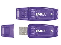 Pack of 2 USB keys Emtec C410 8 GB