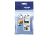 Brother LC3219XL Value Pack - pack de 4 - XL - noir, jaune, cyan, magenta - originale - cartouche d'encre