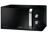 Samsung MG23F301EAK - four micro-ondes grill - pose libre - noir