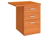Mobile drawer cabinet angle Excellens cherry tree