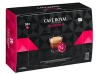 Office Pads professionnel Cafe Royal lungo forte - Boîte de 50 pads