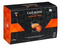 Office Pads professionnel Cafe Royal espresso forte - Boîte de 50 pads